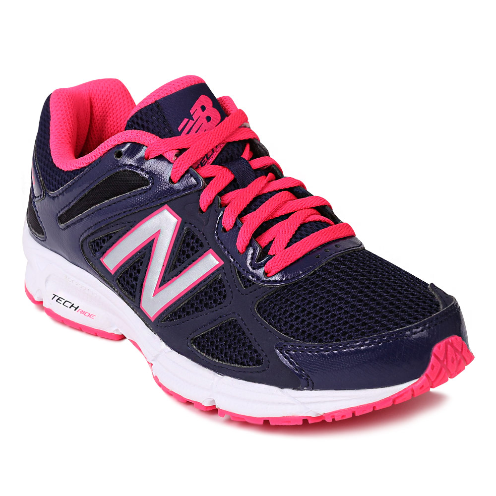 뉴발란스 여성 W460v1 런닝화 네이비/핑크(New Balance W460v1 Ladies Running Shoes Navy/Pink)
