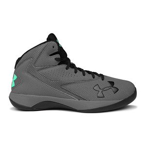 언더아머 남성 락다운 농구화 그레이/블랙(Under Armour Lockdown Mens Basketball TrainersGrey/Black)